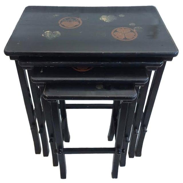 Nesting Tables - Set of 4 Vintage Japanese - Image 1 of 6