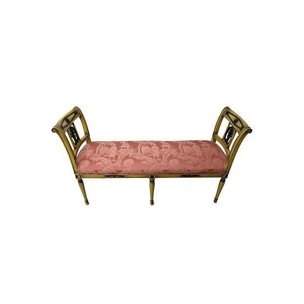 Image of Hollywood Regency Window Bench