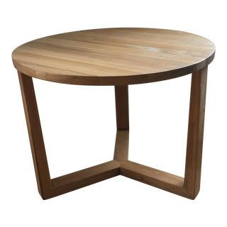 Noir Furniture Natural Wood Side Table