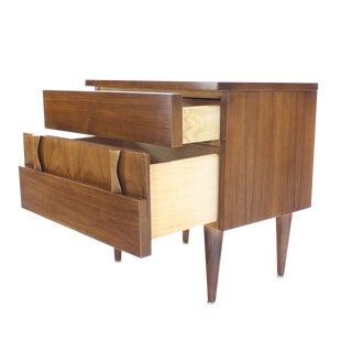Danish Mid-Century Modern Walnut End Table or Night Stand