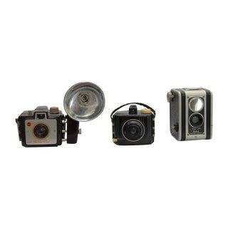Decorative Vintage Kodak Camera Trio