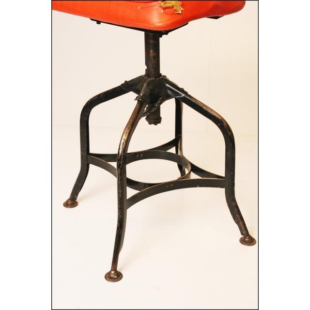 Image of Vintage Industrial Toledo Drafting Stools - A Pair
