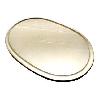 Mid-Century Italian White Alabaster Platter