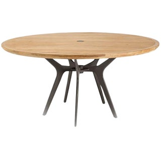 McGuire Farallon Outdoor Teak Dining Table