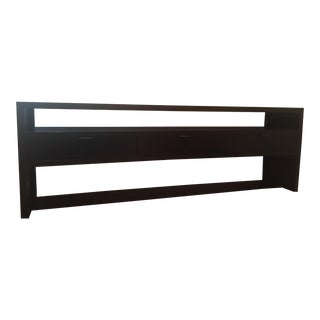 Room & Board Dark Wood Media Console