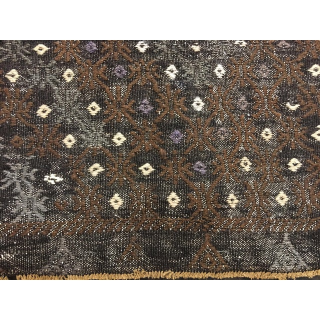 "Bellwether Rugs Turkish Jijim Kilim Rug - 7'3"" X 10'10"" - Image 5 of 9"
