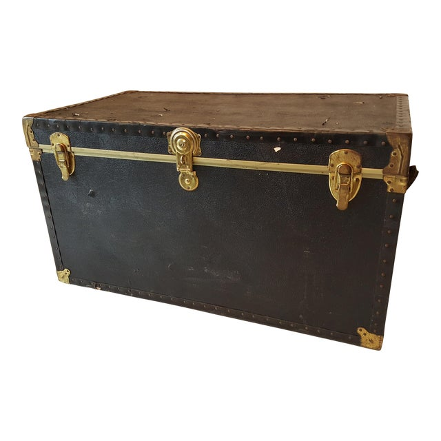 Vintage Extra Large Trunk - Image 1 of 11