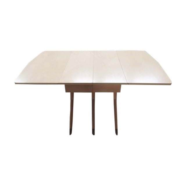 Image of Mid Century Blonde Dining Table