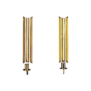 Pierre Forssell Skultuna Candle Sconces - A Pair
