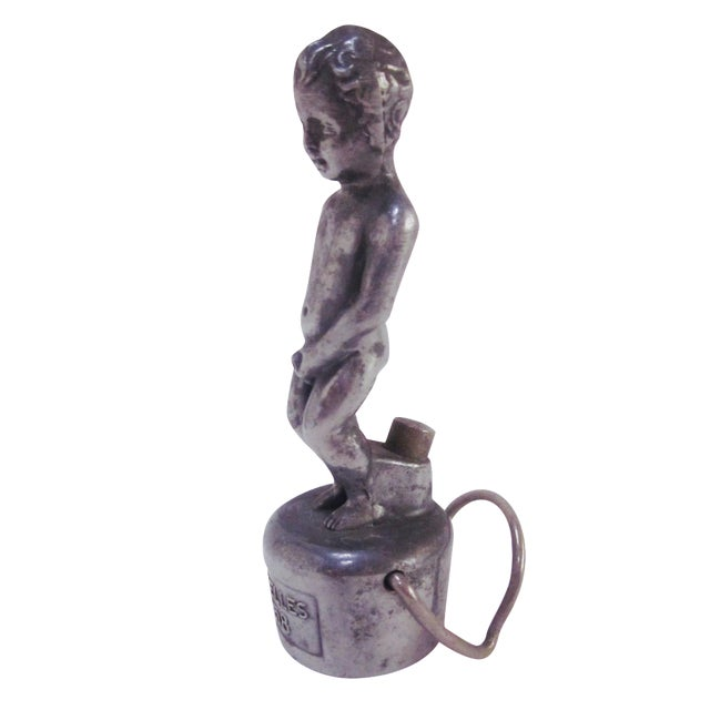 Vintage Cherub Bottle Topper - Image 1 of 10