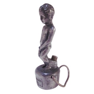 Vintage Cherub Bottle Topper