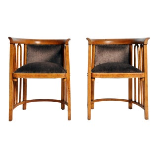 Pair of Sitzmaschine Chairs by Josef Hoffmann