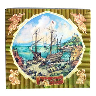 Huntley & Palmers English Biscuit Tin