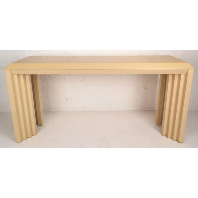 Mid-Century Modern Lacquered Console Table by Lane Furniture Company - Image 2 of 9