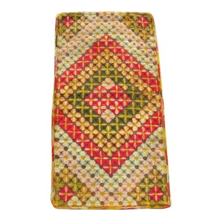 """Antique Hooked Rug 22"""" X40"""""""