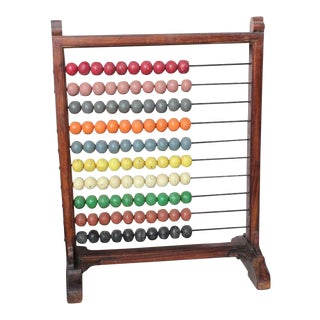 Over Sized Antique School Abacus
