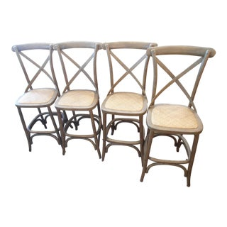 William Sonoma French Bistro Counter Stools - Set of 4