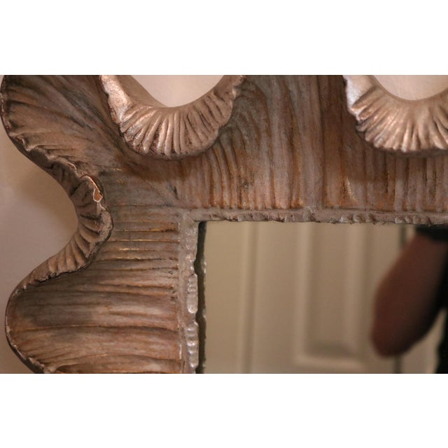 Image of Friedman Brothers Venetian Scalloped Edge Mirror