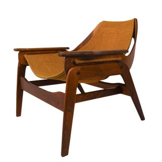 Mid Century Modern Sling Chair By Jerry Johnson