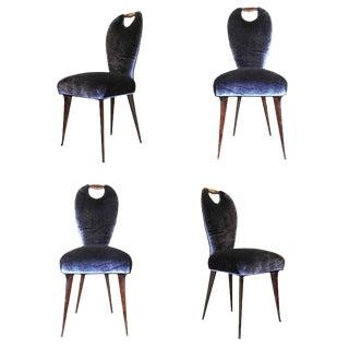 Set of Four Elegant Chairs