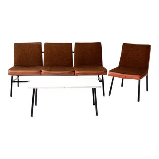 Mid-Century Office Furniture - Set of 3