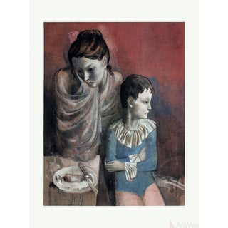 "Pablo Picasso ""Mother and Child"" Poster"