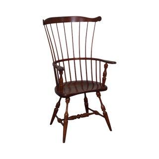 Vintage Duckloe Brothers Windsor Arm Chair