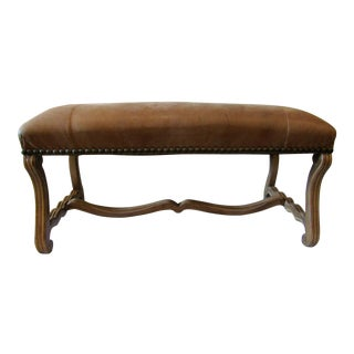 Kreiss Renaissance Leather Bench