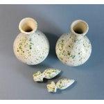 Image of Speckled Ceramic Vases - A Pair
