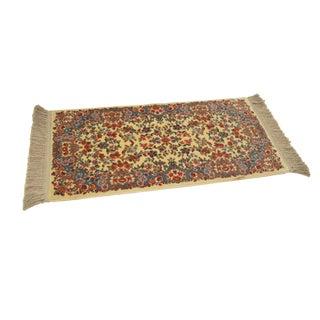 "Karastan Ivory Kirman #788 Throw Rug Carpet -- 2'2"" x 4'9"""
