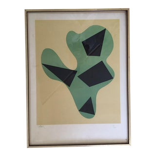 Jean Arp Abstract Lithograph