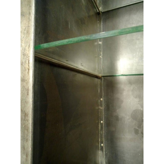 Industrial Metal Display Cabinet - Image 7 of 9