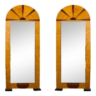 Pair of Swedish Art Deco Mirrors, Early 20th c