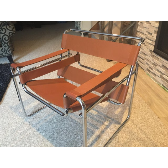 Wassily Chair In Cognac Leather Chairish