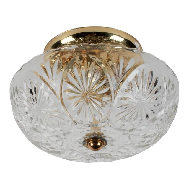 American Lantern Company Brass Ceiling Flush-Mount Light - Image 1 of 8