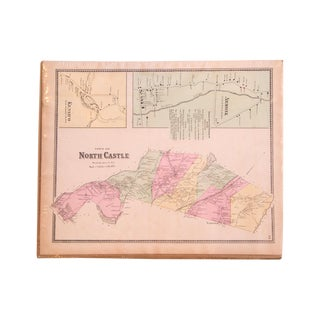 Antique Armonk &North Castle NY Map