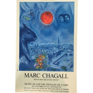 Mid-Century Chagall Peintures Recentes Poster