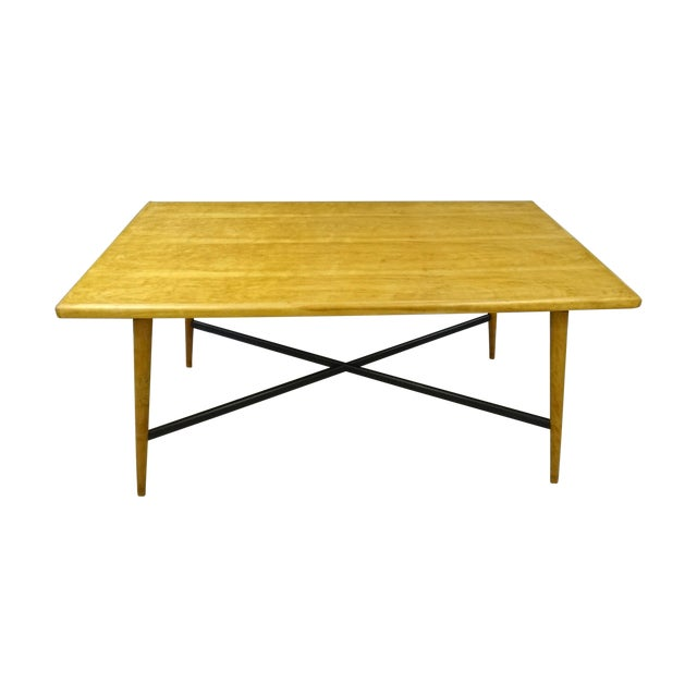 Heywood Wakefield Vintage Solid Maple Dining Table Chairish