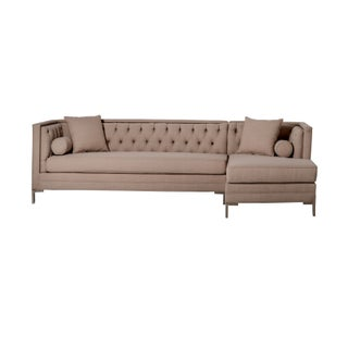 Patrick Tufted Sectional Sofa