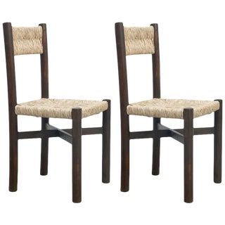 Pair of Charlotte Perriand Chairs, circa 1950