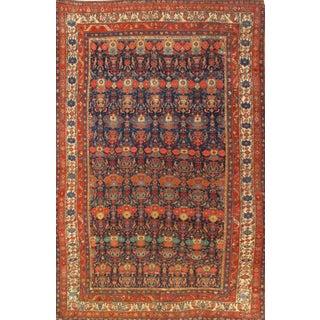 Pasargad N Y Antique Persian Bidjar Hand-Knotted Rug - 7′2″ × 11′2″