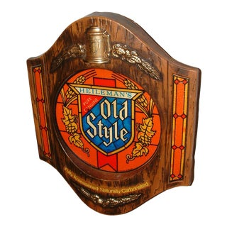 Heilemans Old Style Lighted Beer Sign