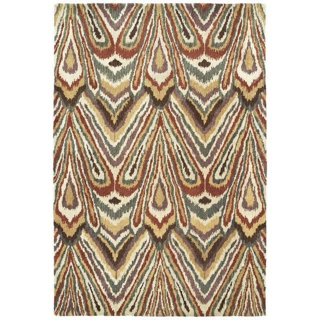 Kaleen Soho Rug, Beige, Rust & Grey - 8' x 11' - Image 1 of 2