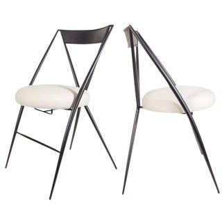 Pair of Mid-Century Modern Folding Chairs