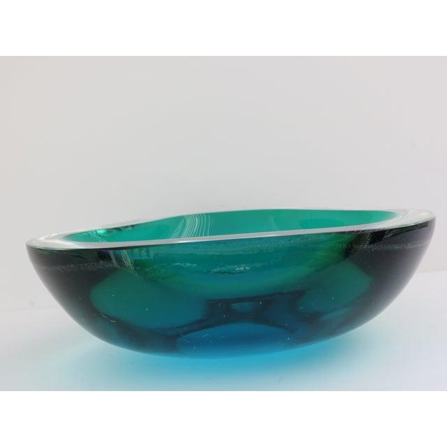 Image of Ocean Blue Murano Bowl