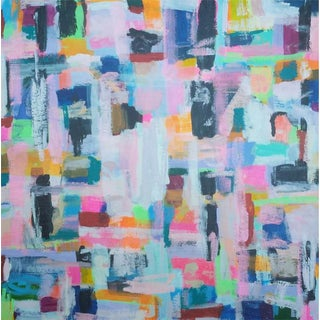 "Susie Kate ""Symphony #3"" Abstract Painting"