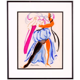 Dancer in a Blue Dress, Phillip Callahan