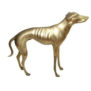 Brass Whippet or Greyhound