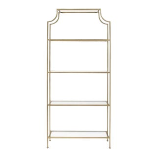 Gold Chinoiserie Etagere
