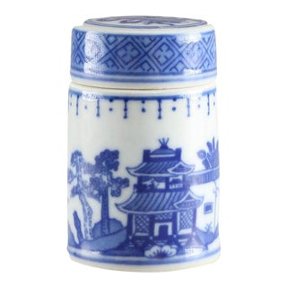 Blue & White Sugar Jar